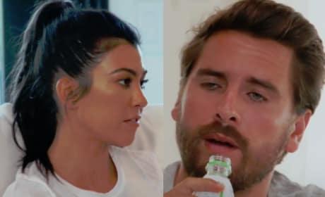 Scott Disick to Kourtney Kardashian: You're the Biggest FAKE!