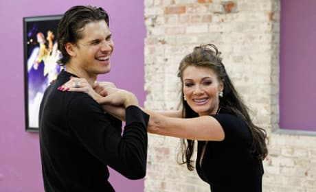 Lisa Vanderpump on DWTS