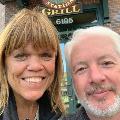Amy Roloff and Chris Marek on the Gram