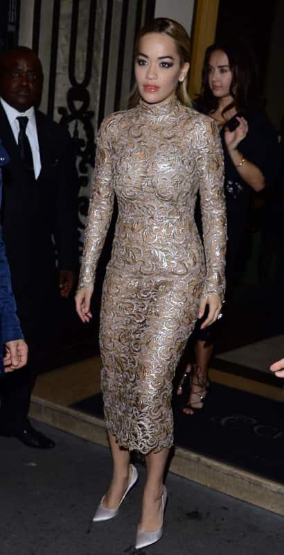Rita Ora:  Paris Fashion Week Sp/Su 2016