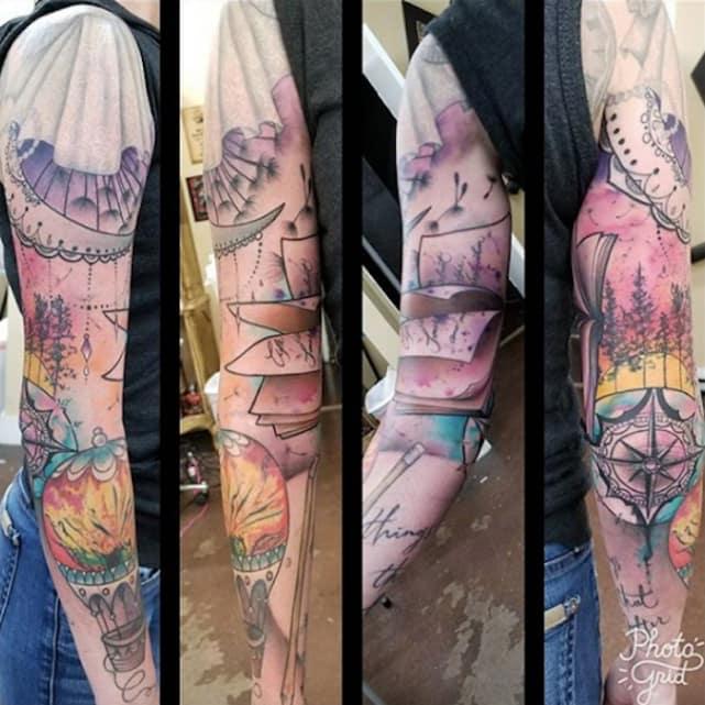 So Many Tattoos
