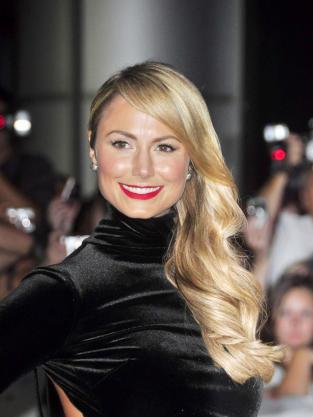 Stacy Keibler in Black