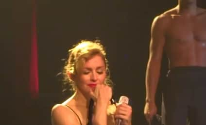 """Madonna Cries During """"Like a Virgin"""" Performance"""