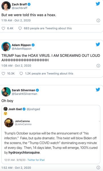 tweets de trump engaño