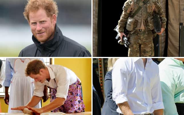 Prince harrys scruff