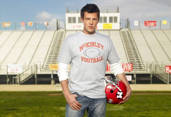 Cory Monteith on Glee Photo
