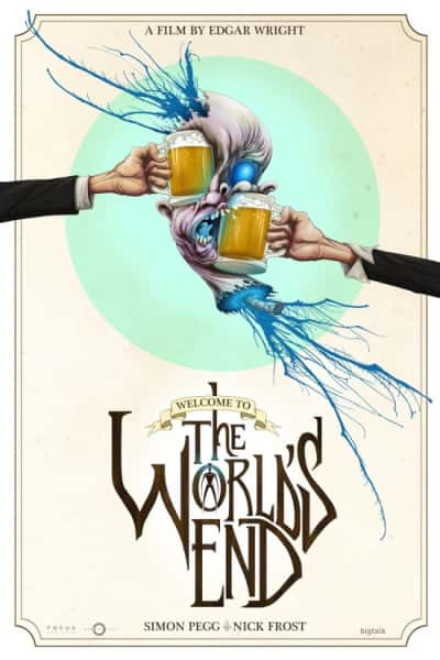 The World's End Alex Pardee Poster