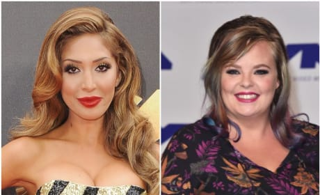 Farrah Abraham, Catelynn Lowell Attack Each Other in EXPLOSIVE Fight!!