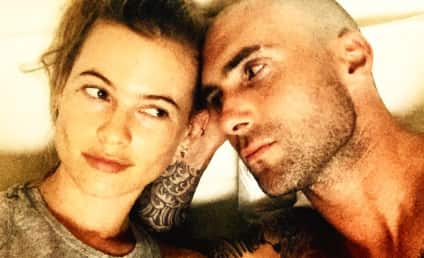 Adam Levine: Pregnant with First Baby! Sort Of!