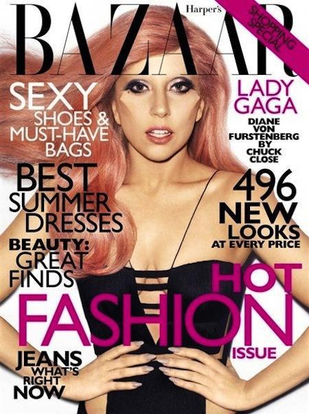 Lady Gaga Bazaar Cover