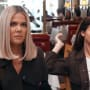 Khloe kardashian and kendall jenner listen in horror