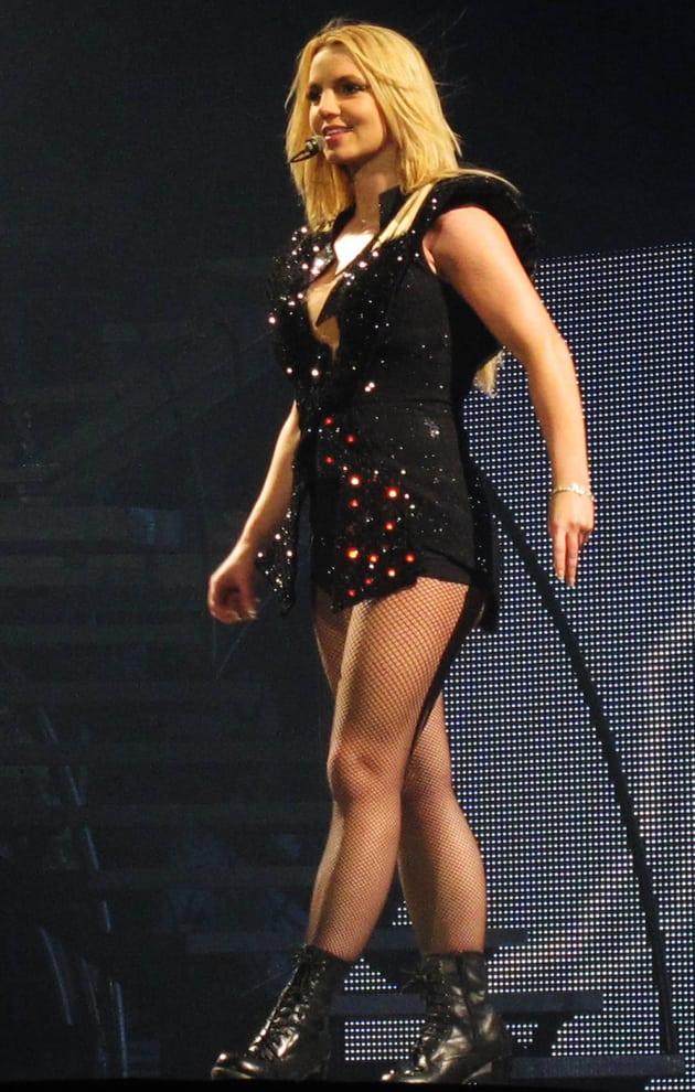 Britney in Black