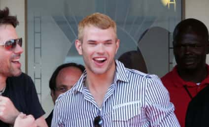 Kellan Lutz is a Greek God