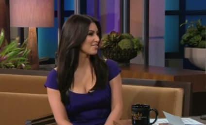 Jay Leno Asks Kim Kardashian: Is That Real?