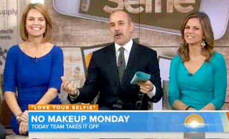 Today Show Anchors With No Makeup