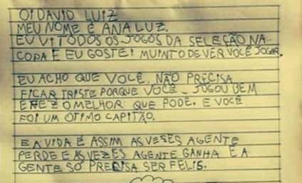 David Luiz Fan Writes Touching Letter to Brazil World Cup Captain, Inspires Soccer Star