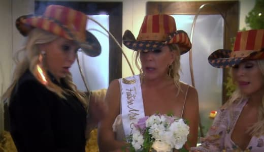 Shannon Beador Catches Fire