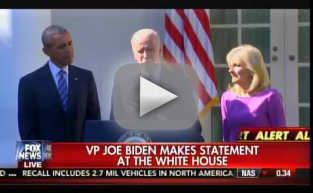 Joe Biden: I Will Not Be Running For President in 2016!