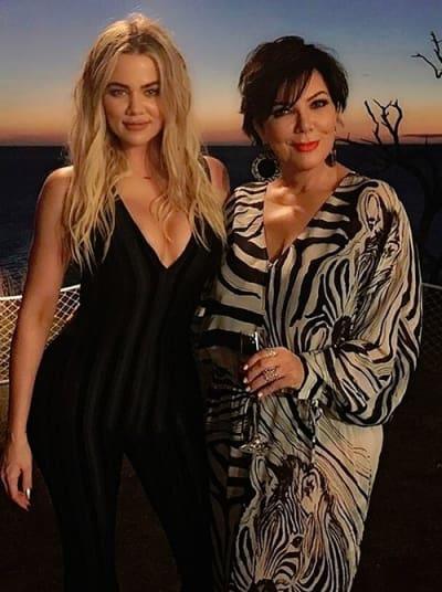 Khloe Kardashian and Kris Jenner