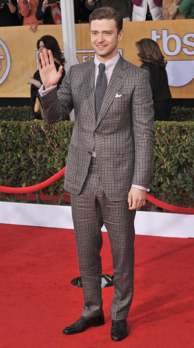 Justin Timberlake SAG Fashion