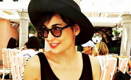 Demi Moore in Hat