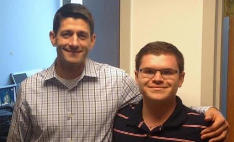 Adam Savader and Paul Ryan