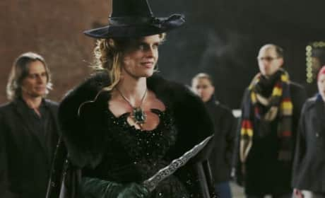 Zelena on Once Upon a Time