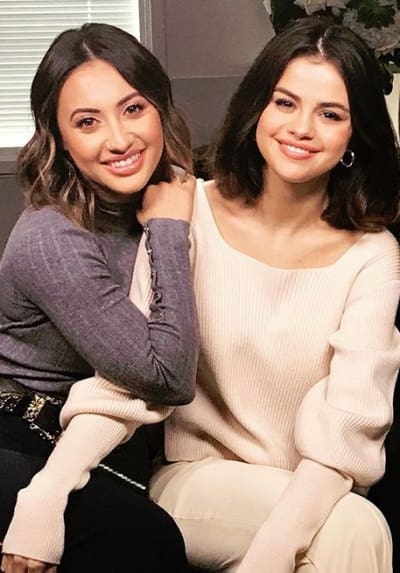 Francia Raisa, Selena Gomez Together