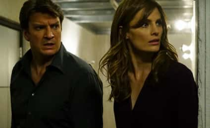 Stana Katic: Bullied by Nathan Fillion! Cried In Her Dressing Room!