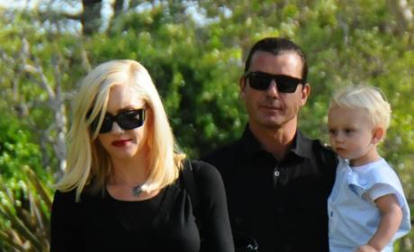 Singer and Her Family