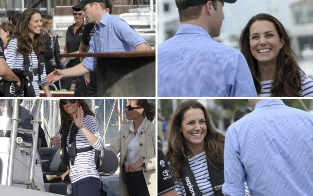 Friendly rivalry between duchess kate and prince william
