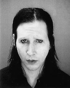Marilyn Manson Mug Shot