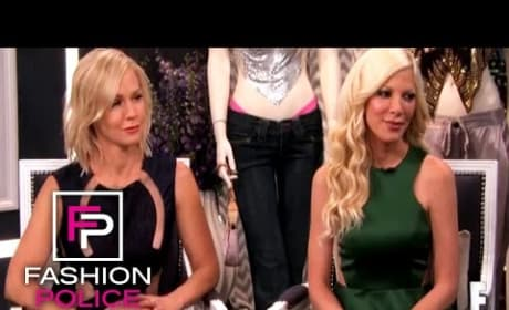 Tori Spelling on Fashion Police