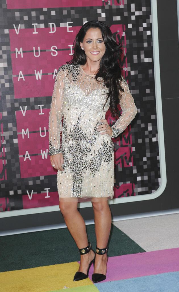 Jenelle Evans at the VMAs