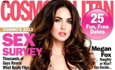 Megan Fox Cosmo Cover