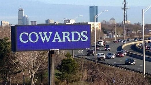 Cowards Billboard