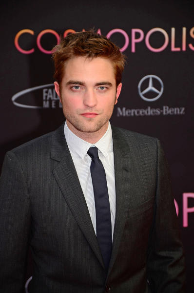Robert Pattinson at Cosmopolis Premiere
