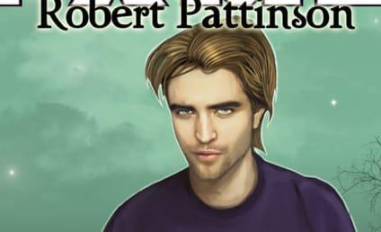 Robert Pattinson is a Comic Book Hero