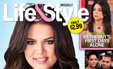 Khloe Kardashian Pregnancy Cover