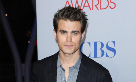 Paul Wesley at the People's Choice Awards