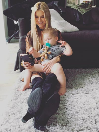 Christina El Moussa and Brayden