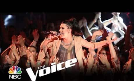Kat Perkins - Get Lucky (The Voice)