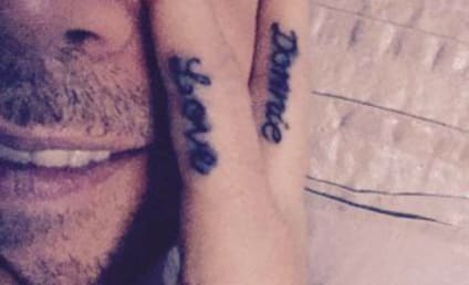 Jenny McCarthy Tattoos Love for Husband on Hand