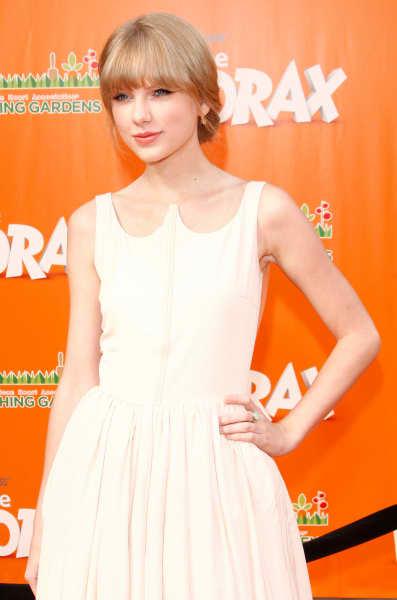 Taylor Swift at Lorax Premiere