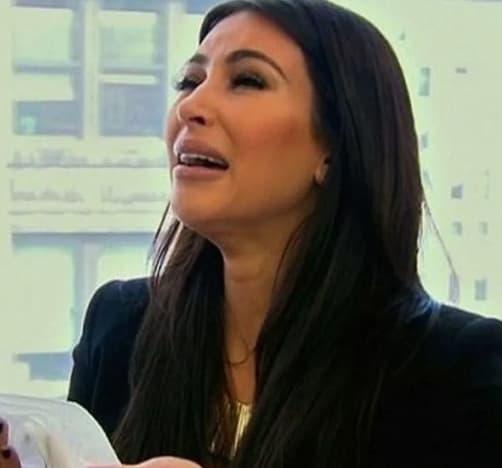 Kardashian Cries