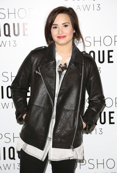 Demi Lovato Red Carpet Pose
