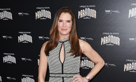 Brooke Shields Cirque Du Soleil Paramour Broadway Opneing Night