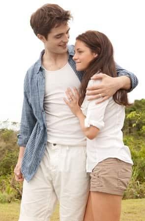 Edward and Bella on Their Honeymoon