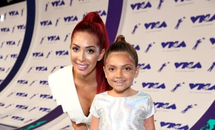 Farrah Abraham: Letting Nine-Year-Old Daughter Drink Booze on Vacation?!