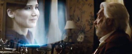 President Snow vs. Katniss